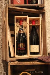 Au pays des Brouilly Offre promotionnelle sur les magnums pour vos cadeaux de fin d'année.
